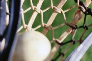 Lacrosse Ball in Stick